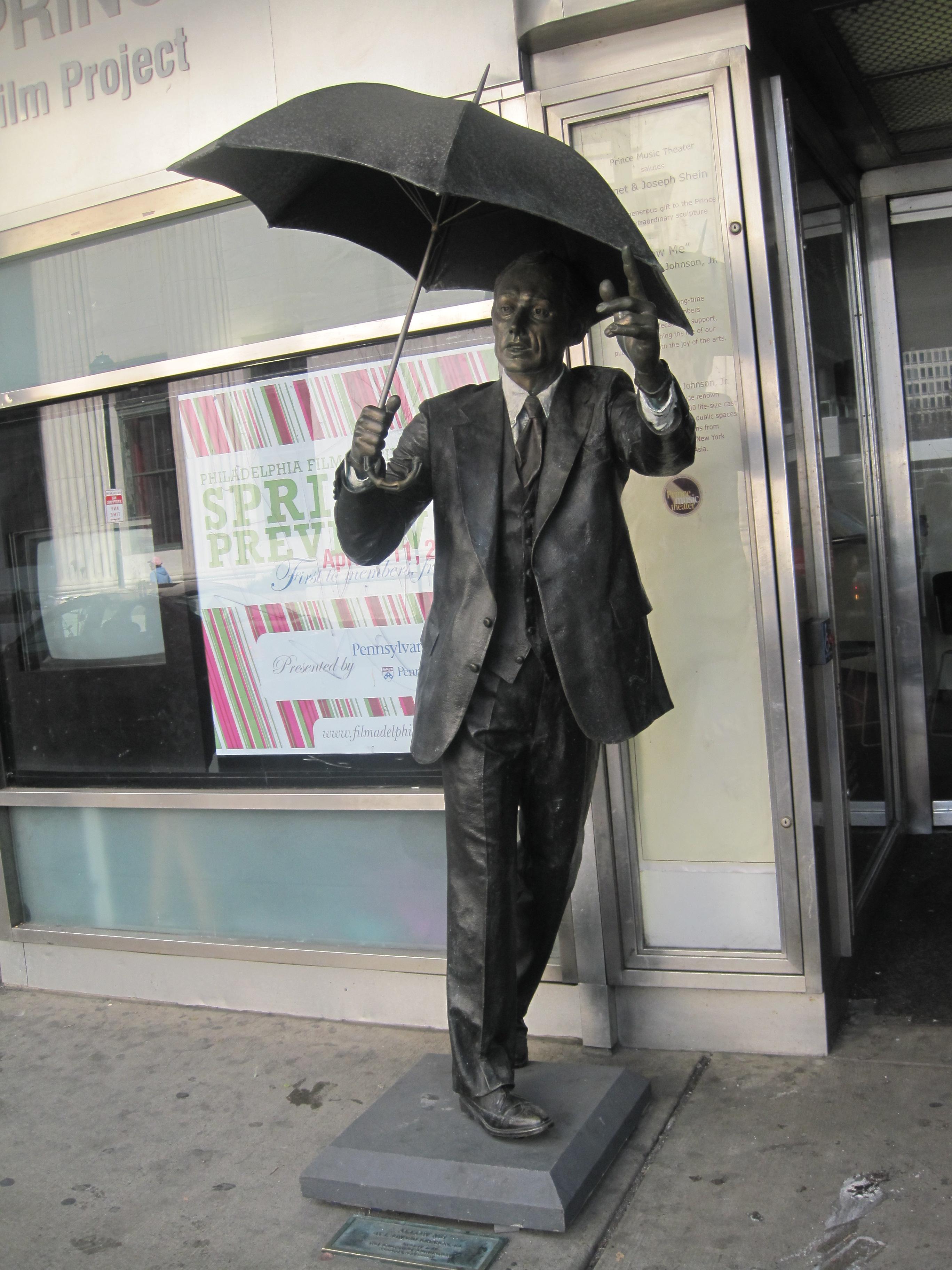 Statue In Philadelphia
